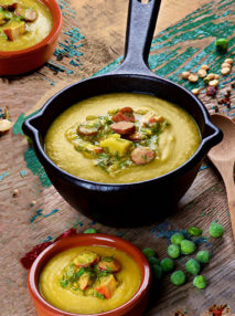 Image for Ham, pea and potato soup
