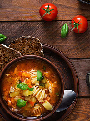 Image for Hearty-Vegetarian-Minestrone-Soup