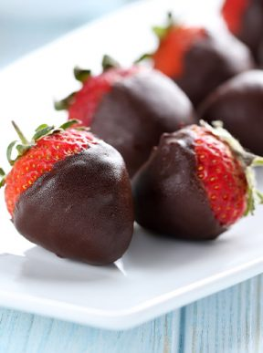 Chocolate Dipped Strawberries Diabetes Queensland